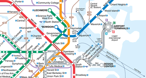 MBTA Subway Map